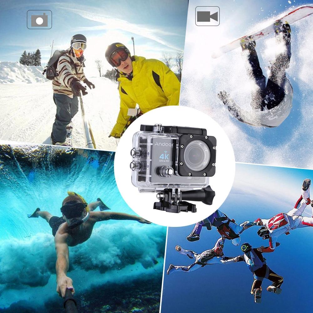 Andoer Led Tauchvideoleuchte Fill-in Licht Lampe 3 Modi 30 Mt Wasserdicht Unterhaltungselektronik Andoer Q3h 2 ultra-hd 4 Karat Kamera Wifi 16mp Action Kamera