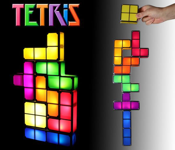 Online Shop 100 Original Tetris Stackable LED Desk LampNovelty