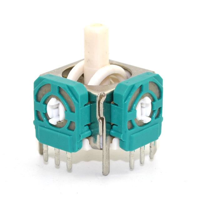 100 pcs Replacement 3D Analog Joystick Thumb Stick for gamecube Controller Repair Parts for NGC