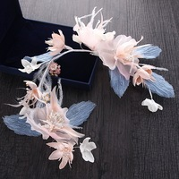 Korean New Bride Wedding Photo Studio Wreath Headdress Yarn Juan Flower Ring Yarn Sen Female Ring