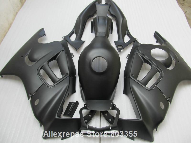 Обтекатель комплект для Honda ЦБ РФ 600 F3 1996 * 1995 Обтекатели ЦБ РФ 600 ( матовый черный ) обтекатель комплект 95 96 xl62