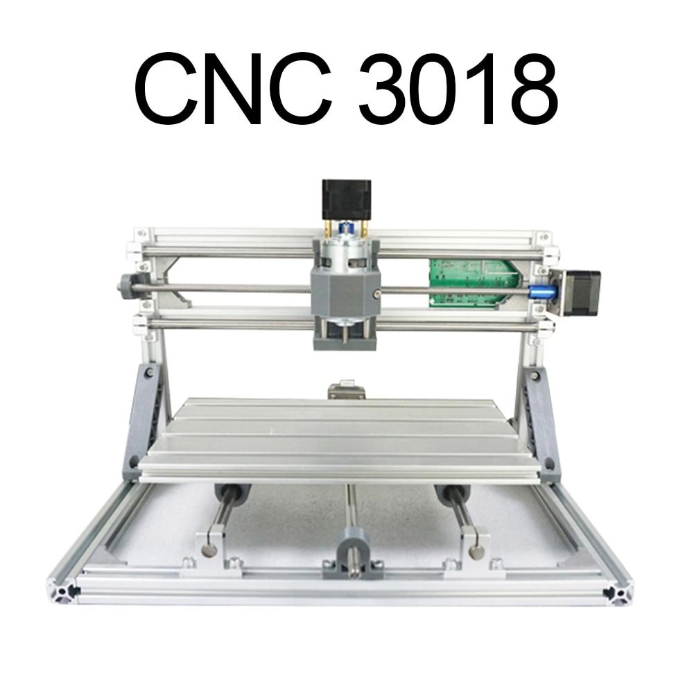 CNC 3018 avec ER11, bricolage Mini CNC Machine de gravure, gravure Laser, Pcb PVC fraiseuse, routeur en bois, CNC 3018, meilleurs jouets avancés
