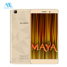 "Bluboo Maya 5.5"" JDI HD Screen MTK6580A Quad Core Cellphone 2G RAM 16G ROM Mobile Phone 3G WCDMA Android 6.0 Smartphone"