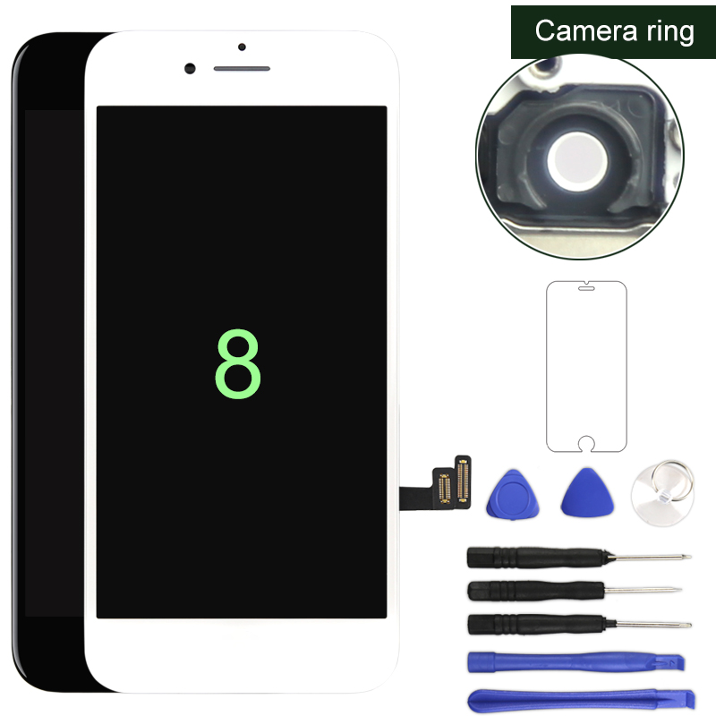 Premium For iphone 8 8G LCD Display With 3D Touch Screen Digitizer No Dead Pixel For iphone LCD Tianma OEM(China)