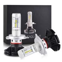 NICECNC 7S H1 H3 H4 H7 H8 H13 9004 9005 9006 9007 9012 Adjustable LED Headlight Car Light Bulbs Kit H/Low Beam Auto Headlamp