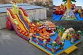 (China Guangzhou) inflatable slides, inflatable castles, Inflatable pool slideTOB-12