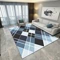 Современный ромбовидный ковер для ванной комнаты  коврик для ванной  домашний декор  напольный коврик  диван  ковровое покрытие для стен  ...