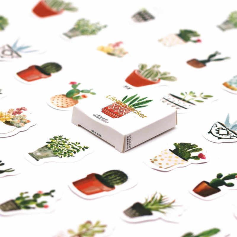 45 Pcs/pack Cute Perjalanan Pemandangan Pola Dekorasiacion Buku Harian Stiker Natal Scrapbooking Alat Tulis Stiker Mahasiswa Perlengkapan