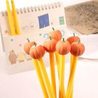 2 Pcs Erasable Halloween Pumpkin ghost Design Gel Pen Children Gift 0.5mm Black Ink Kawaii Stationery Pen Office School Supplies [category]