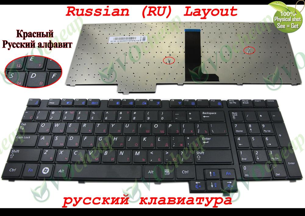 Prix pour Véritable Nouveau clavier D'ordinateur Portable pour Samsung R718 NP-R718 R720 NP-R720 R730 NP-R730 Noir Russe RU Version-CNBA5902531