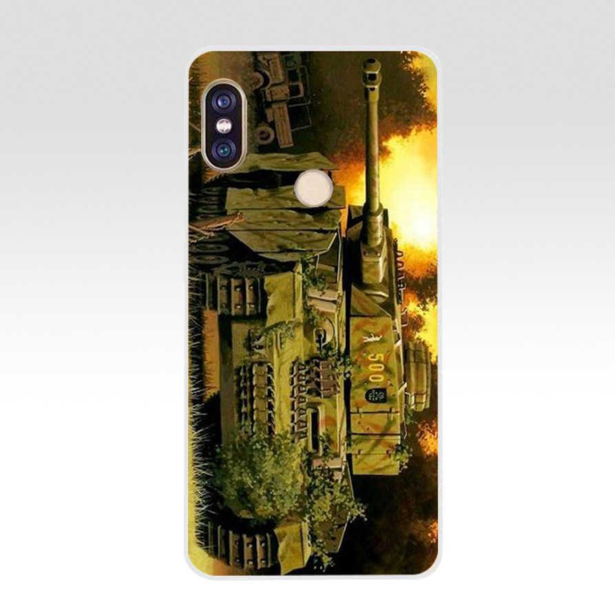 209AQ World of tanks Мягкий силиконовый чехол TPU чехол для телефона для xiaomi redmi 6 pro Примечание 6 pro 5 плюс 4 4x Mi 8