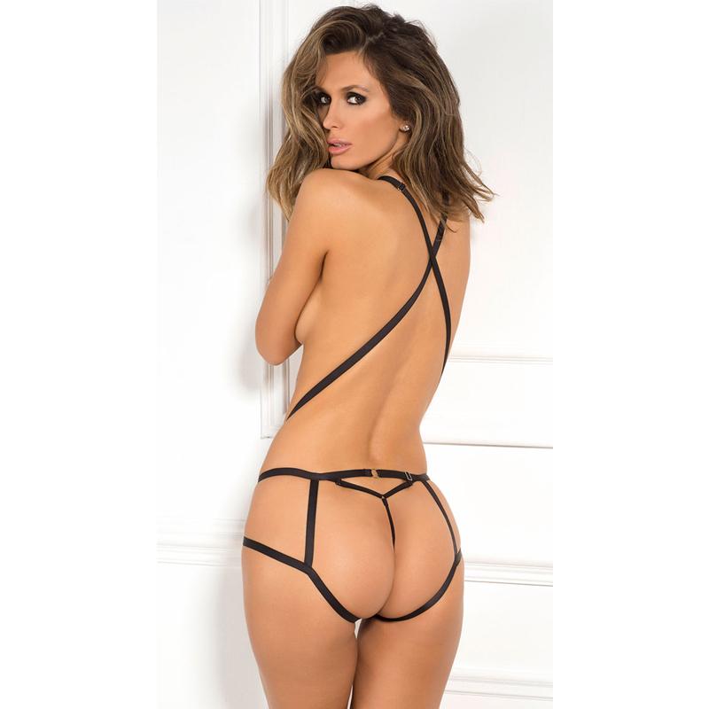 Lingerie Sexy Marque Anais Nuisette Corsia Set Black Daft Sex 1