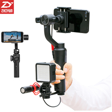 Zhiyun 3 Axis Smooth 4 Gimbal Bluetooth Handheld Video Stabilizer Steadicam APP control for iPhone X