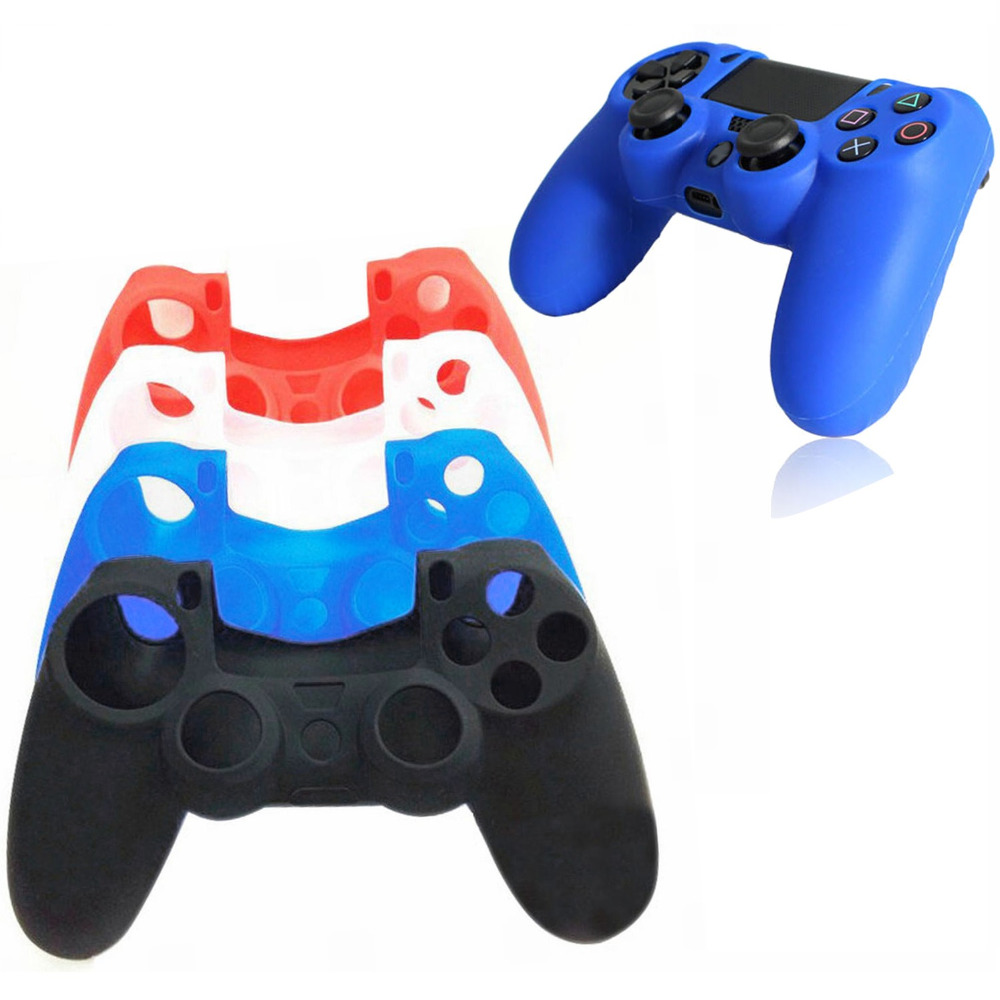 Bevigac Silicone Protective Skin Cover Case For Sony Playstation Ps4 Play Station Ps 4 Dualshock 4 Game Gamepad Joystick