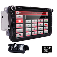 Hizpo 8inch 2din Multimedial VW Car DVD Player GPS Navigation For GOLF 6 New Polo New