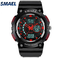 SMAEL Outdoor Sports Watches Waterproof LED Watch S Shock Resisitant Mens Watches Top Brand Luxury Male