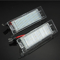 Brand New 18 LED License Number Plate Light For Vauxhall Opel Corsa C D For Astra