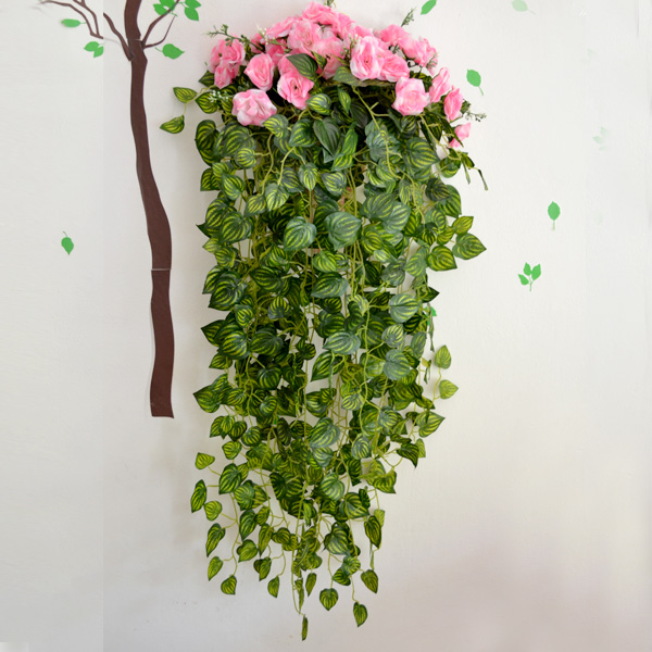 Artificial flower rattails qihii ivy flower vine decoration artificial plants wall