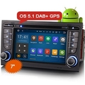 Erisin ES3078A Quad-Core Android 5.1 HD Car DVD Radio GPS DVR