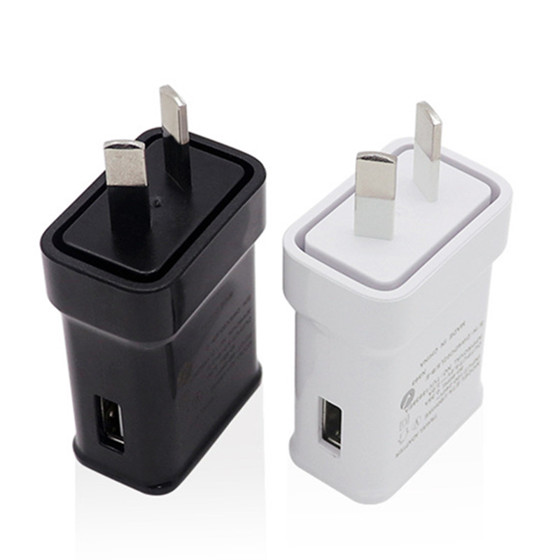 2A AU Plug USB AC Power Wall Home Charger Power Adapter For Samsung Galaxy S5 6 Edge for Apple iphone Australia Adapter in Mobile Phone Chargers from Cellphones Telecommunications