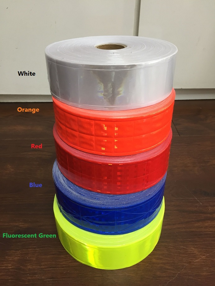 5CM*1M PVC Reflective Warning Tape Road Traffic Clothing Bag Shoes Reflective Strips