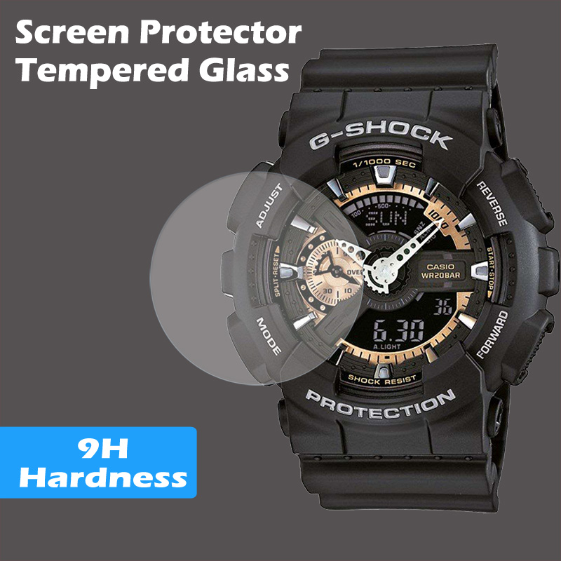 Tempered Glass Screen Protector For Casio Watch G Shock Protrek G-shock Baby-g Flat Glass Screen Protector