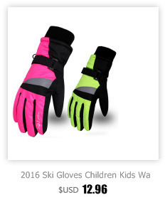 3f850b8e7 High Quality 2016 New Hello Kitty Ski Gloves Children Kids Girls Warm  Windproof Waterproof Outdoor Snow Sports Gloves For 4-12Y