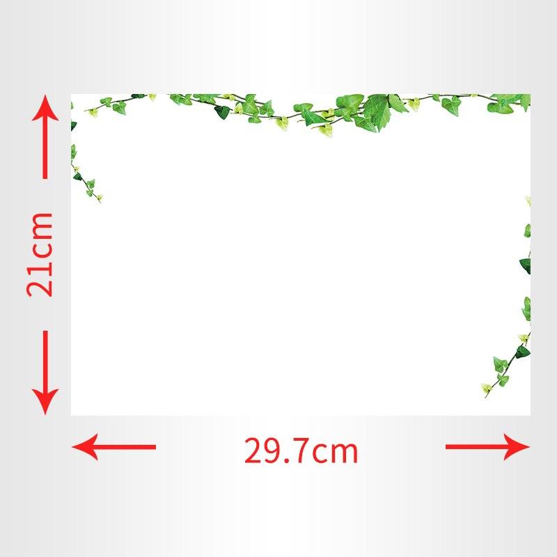 YIBAI A4 Dry Erase Magnetic Whiteboard Mini Office Notice Memo