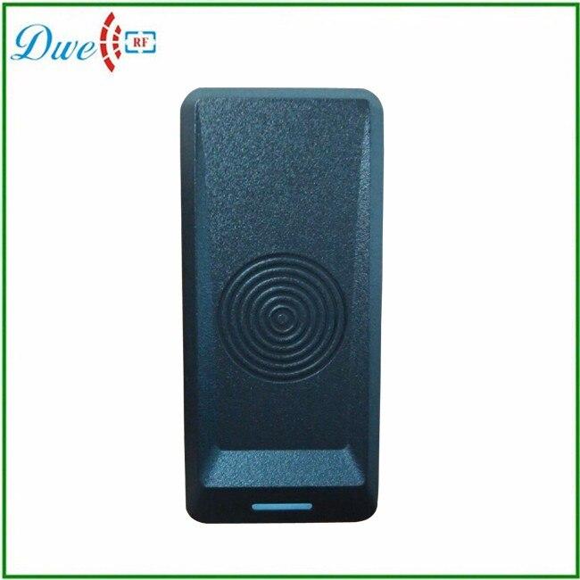 DWE CC RF Security RFID EM-ID Card Reader Wiegand 34 125KHz Output For Access Control dwe cc rf rfid card reader metal case waterproof ip68 125khz emid or 13 56mhz mf wiegand 26 for access control system 002o