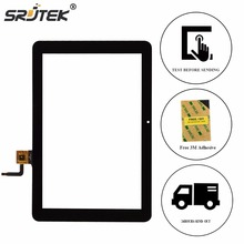 Srjtek 10.1″ Touch Screen for Explay sQuad 10.02 3g Touchscreen Lens Digitizer Sensor Glass Tablet PC Black Replacement Parts