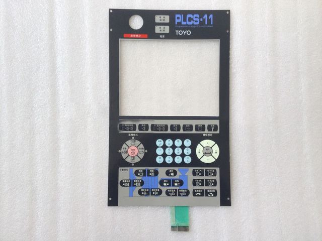 New Membrane Keypad For TY Injection Molding Machine Membrane Keypad PLCS-10 PLCS11 SI-3