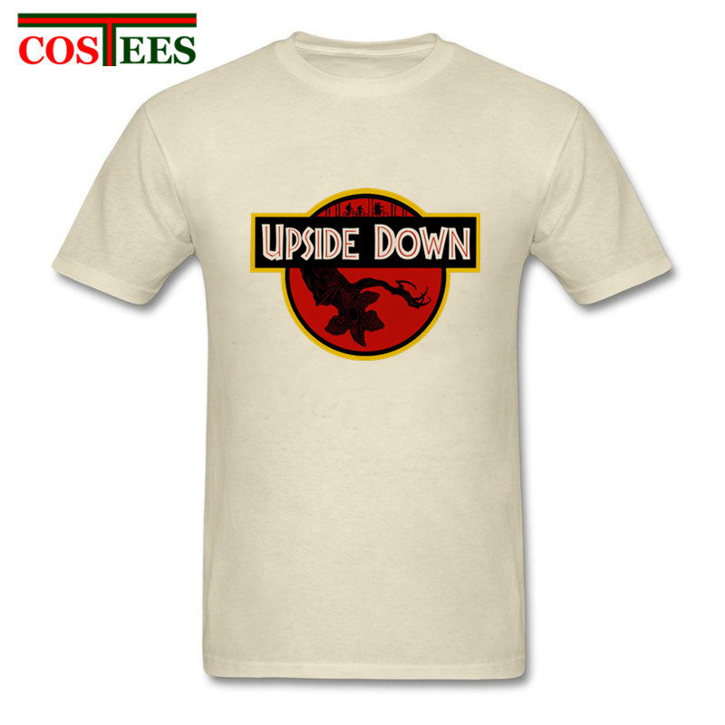 Awesome TV Show Stranger things T shirts men hawkins demogorgon T-shirt kids Jurassic Pa ...