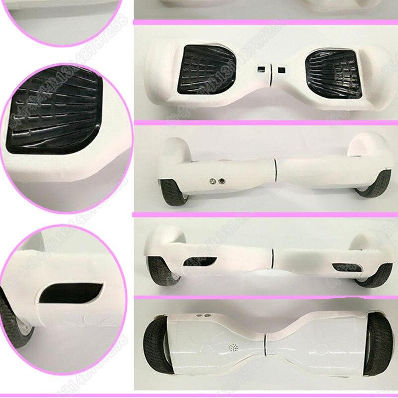 Novo Smart Auto Balanceamento scooter elétrico shell/decalque/pele 2 roda hoverboard capa de silicone