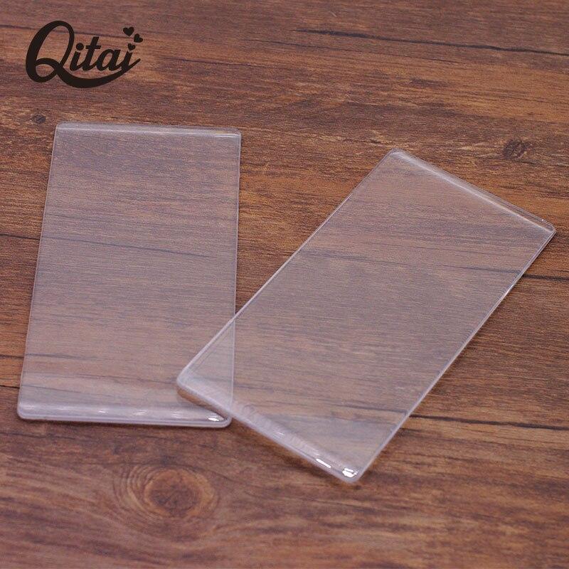 QITAI 2 шт./компл. DIY Скрапбукинг высечка пластины 4 мм Вырубные штампы тиснение пластины замена Pad штамповки CM02
