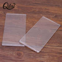 QITAI 2PCS/SET DIY Scrapbooking Die-Cut Machine Plate 4MM Cutting DIES Embossing Machine Plate Replacement Pad DIE CUTTERS CM02