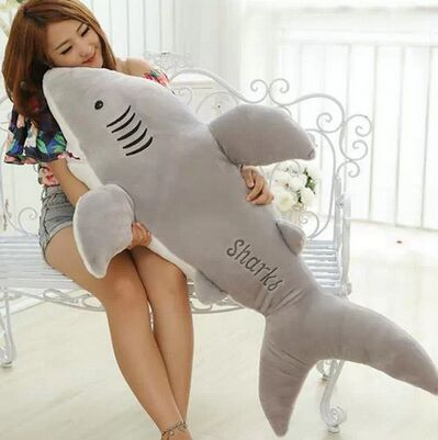 High Quality 70cm Shark Plush Toy Stuffed Pillow Doll Birthday Gift Kids Toy Baby Toy Nice Brinquedos for Children 1pcs 30cm despicable me 2 stuffed plush toy doll film anime minions pea banana style cotton hold pillow baby kids gift