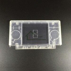Image 3 - Coque de protection blanche/noire transparente pour Nintendo DS Lite pour Console de jeu NDSL