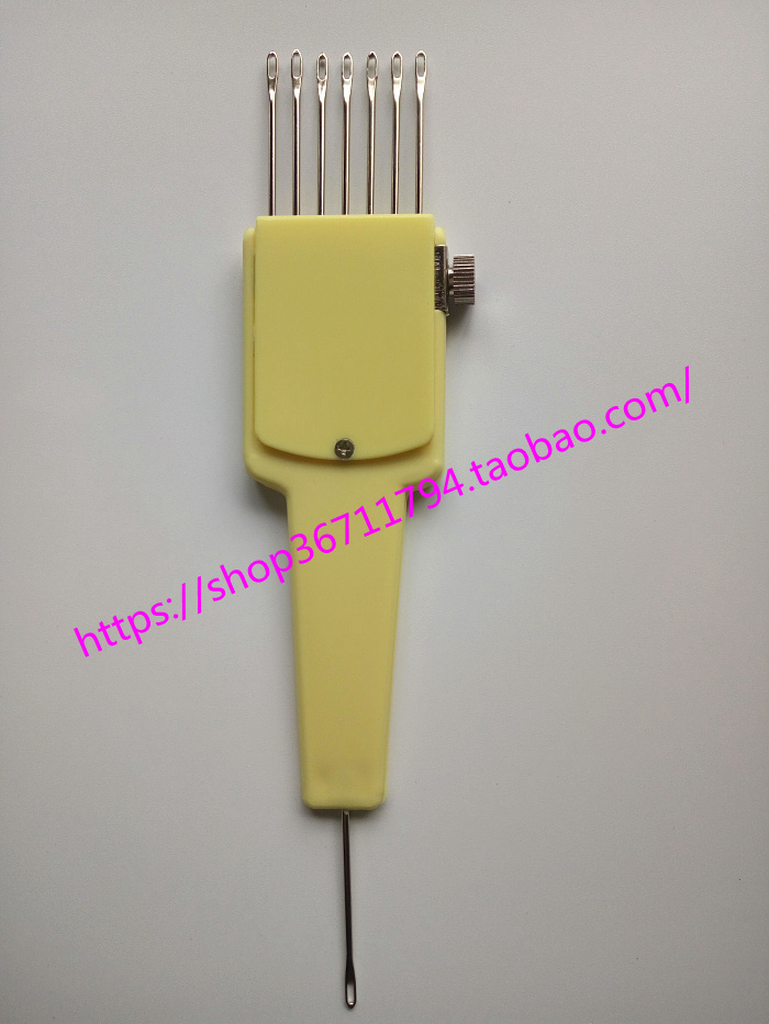 7 NEEDLE ADJUSTABLE TRANSFER TOOL **New** Fits All 4.5mm Knitting Machines