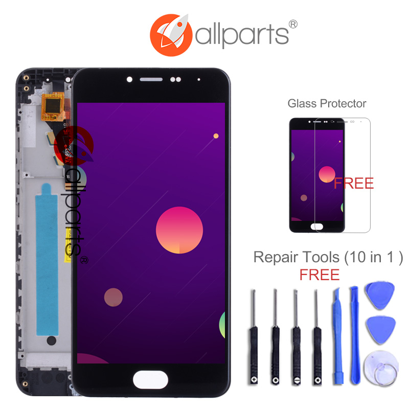 Tested New 5'' 1280x720 LCD For Meizu M3 Mini LCD Display Touch Screen Digitizer Replacement Parts For Meizu M3 Mini LCD
