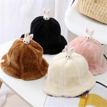Child fisherman hat plush cartoon princess sun hat photo props cosplay plush toy hat Christmas Halloween birthday party dress up(China)