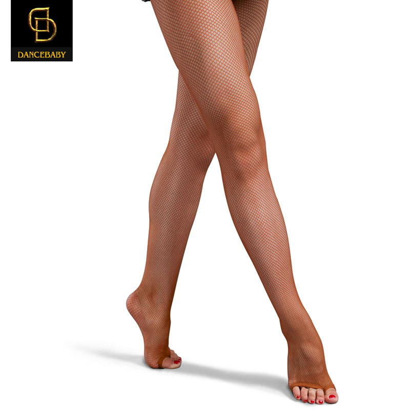 Professionelle Latin Dance Net Socken