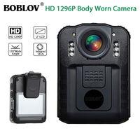 BOBLOV WN9 Novatek 96650 2 0 Inch LCD HD 1296P Police Camera Infrared Night Vision Audio