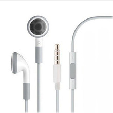 Stereo 3.5mm jack Headset Earphone Volume Control & Mic for iPhone 6 6s 5 5S 4 4S 3GS iPod ipad 2 3 Handfree Headphone Earbuds
