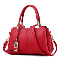 Hot Sale Leather Women Bag Tree Branches Metal Decor Handbags Lady Shoulder Crossbody Messenger Bag Female Purse Tote