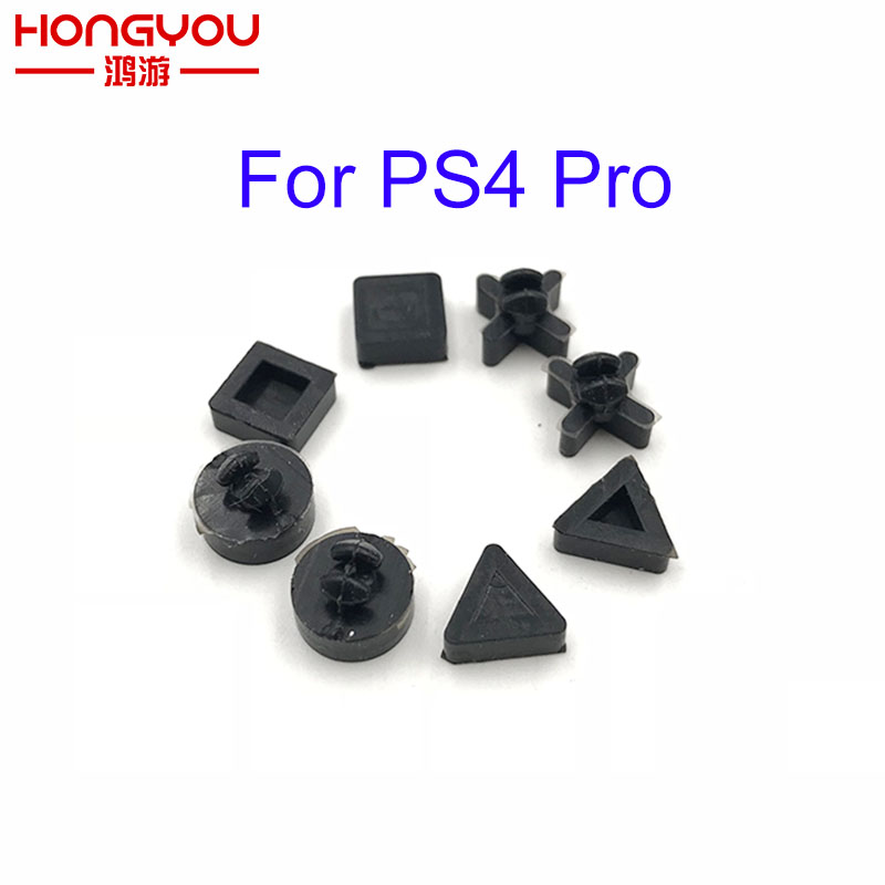 Silicon Bottom Rubber Feet Pads Cover Cap For Sony PS4 PS 4 Pro Slim Console Housing Case Rubber Feet Cover