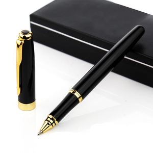 Image 2 - 5 قطعة/الوحدة باوير 388 الذهبي السهم كليب رولربال القلم 5 ألوان مختلفة أقلام الحبر الفاخرة الأسطوانة الكرة القلم ل عيد الميلاد هدية