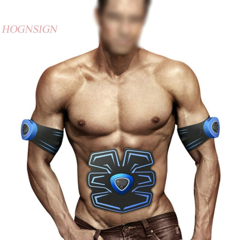 Abdominal Stickers Sports Fitness Equipment Practice Muscle Training Muscles Home Lazy Men Exercise Electro Stimulation Body