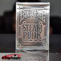 Bicycle Silver Steampunk Deck Bicycle playing cards Good Guality THEORY11 Magic Trick Magic Toys