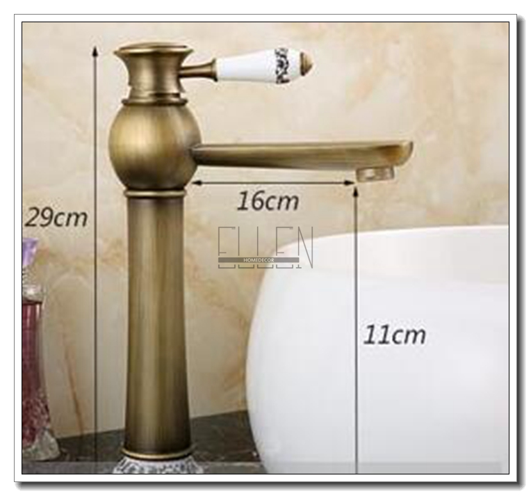 Aliexpress.com : Buy Antique Copper Faucet Rustic Bathroom Sink Tap Antique  Brass Kitchen Faucets Torneiras Para Pia De Banheiro From Reliable Pia De  ...