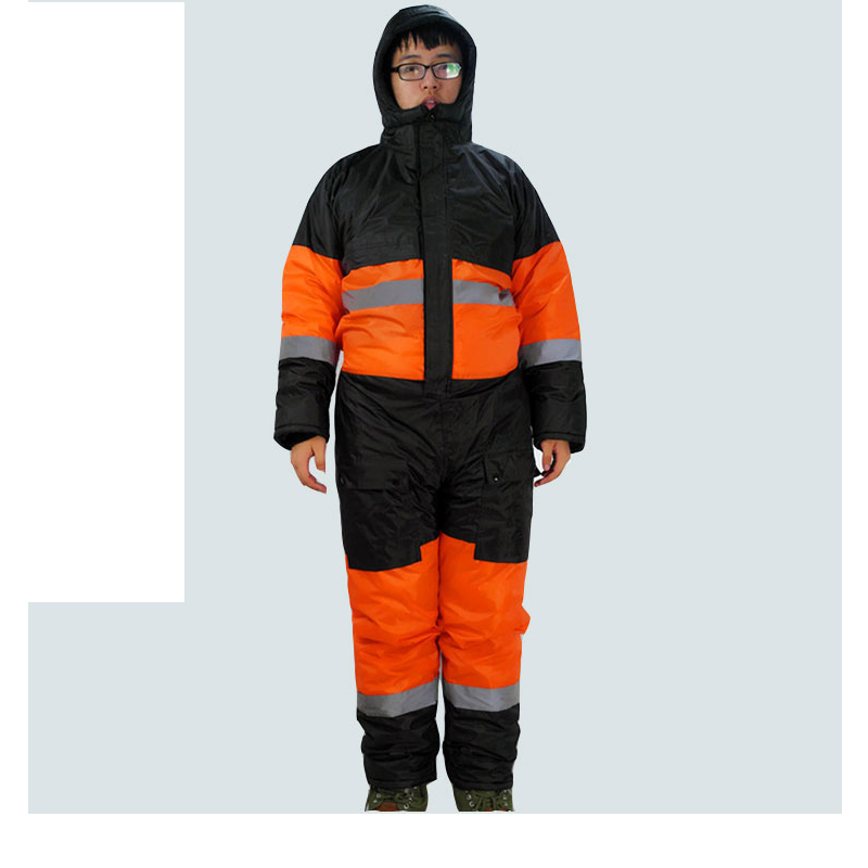 2016 Winter warmth and oil - proof Siamese waterproof Ski jacket warm suit clothes cold storage warm clothing cold storage accessibility and agricultural production by smallholders